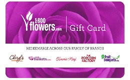 1-800-Flowers Gift Card