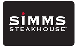 Simms Steakhouse Gift Card