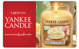 Yankee Candle Company Gift Card