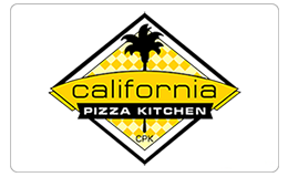 California Pizza Kitchen Electronic Gift Card